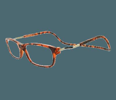 Klikleesbril Executive-schildpad