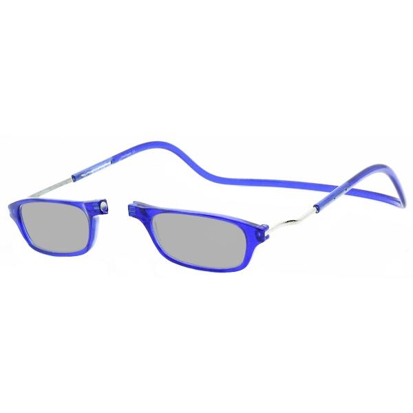 Zonneleesbril Klik Classic XXL Blauw 1