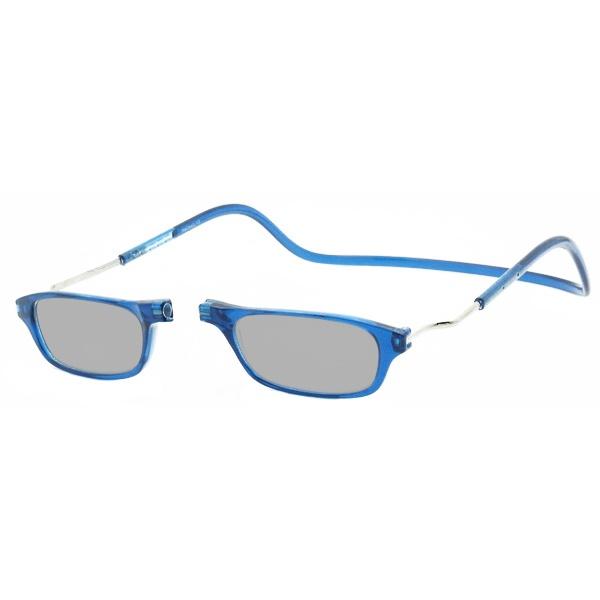 Zonneleesbril Klik Classic XXL Denim 1