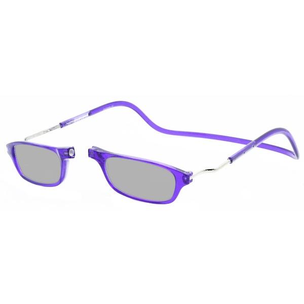 Zonneleesbril Klik Classic XXL Paars 1
