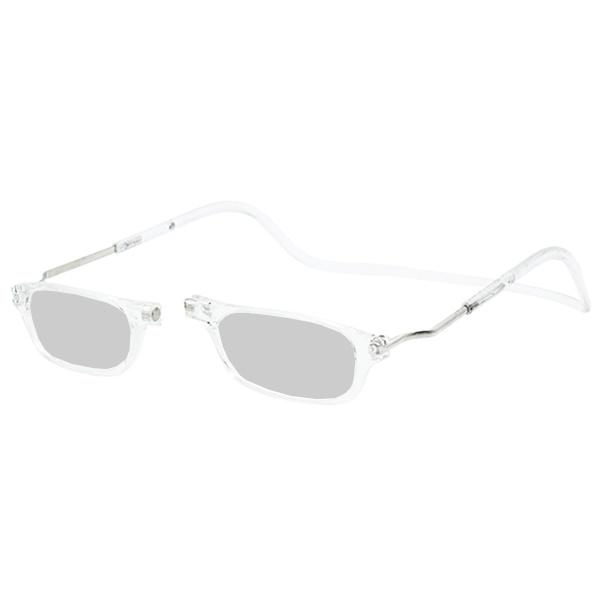 Zonneleesbril Klik Classic XXL Transparant 1
