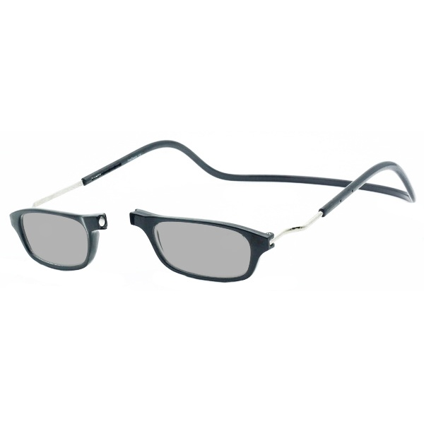 Zonneleesbril Klik Classic XXL Zwart 1