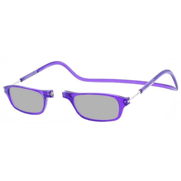 Zonneleesbril Klik Classic Paars 1