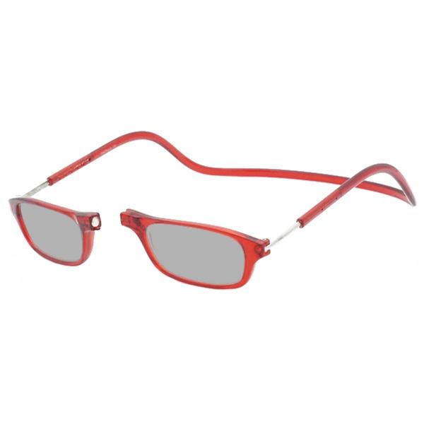 Zonneleesbril Klik Classic Rood 1