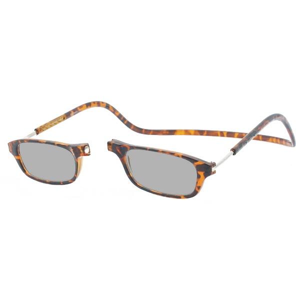 Zonneleesbril Klik Classic Schildpad 1